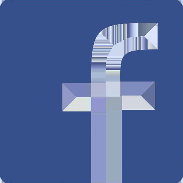logo facebook azul